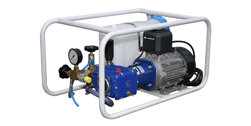 Electrically Hydrotest Pumps