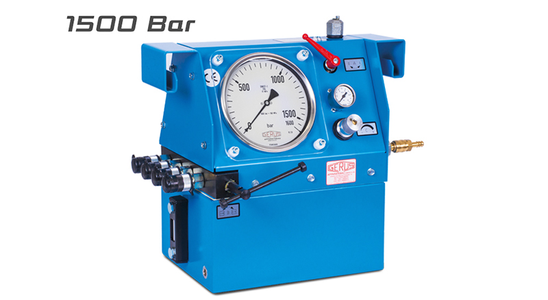 Gerus HP25 1500 Bar Air Hydraulic Test Pump