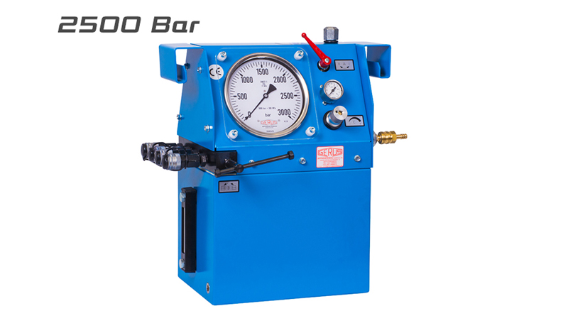 Gerus HP26 2500 Bar Air Hydraulic Test Pump