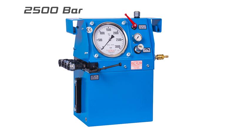 Gerus HP26 2500 Bar Air Hydraulic Test Pump