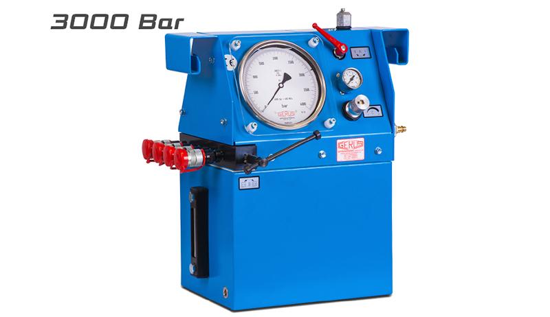 Gerus HP27 3000 Bar Air Hydraulic Test Pump