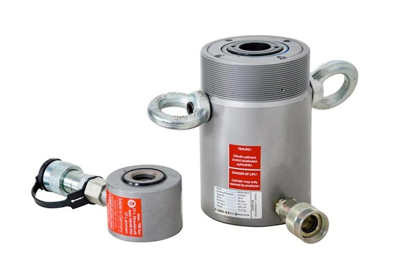 20 Tone Hub 50 mm Hollow Cylinder Hydraulic Cylinder Hollow Piston Cylinder kolbenweg 20t