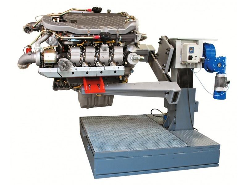 HV-2500E Heavy Vehicle Engine Repair stand