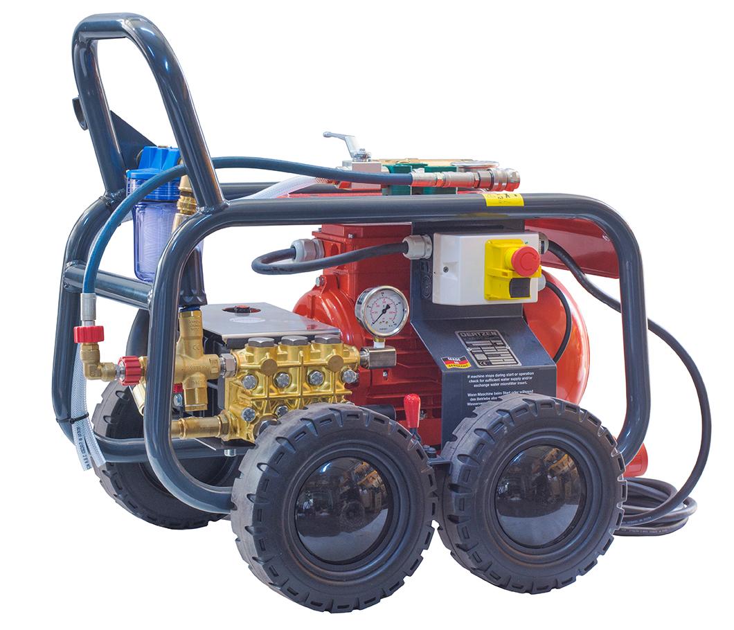 280 Bar Hydrostatic Test Pump Oertzen HTP-310