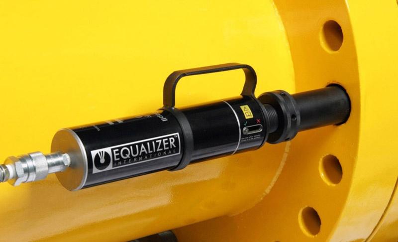 SG25TE - 25 Ton Secure Grip Inline Hydraulic Flange Spreader