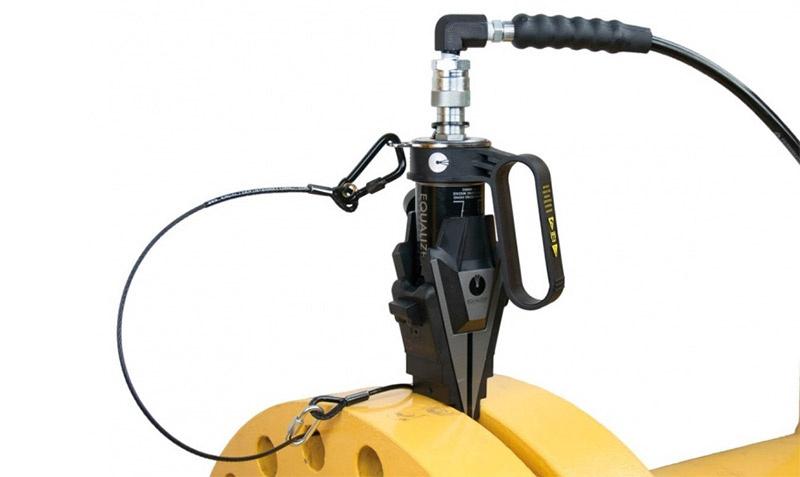 SWi20/25TE - 25 Ton Hydraulic Flange Spreader