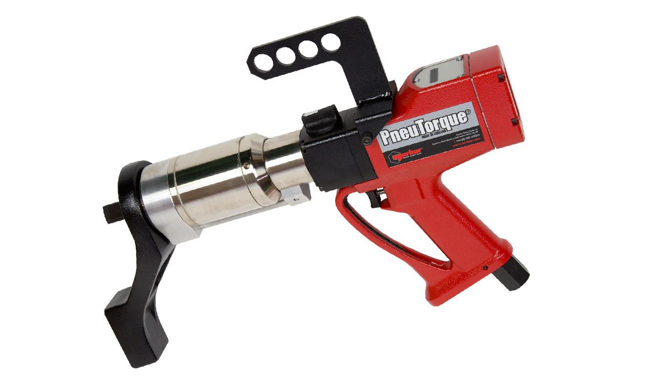 Pneumatic Torque Wrench ~ Pneumatic torque wrench with digital display