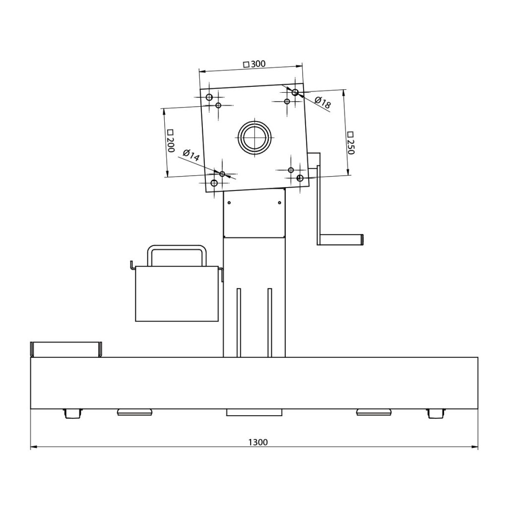 HV-1500-engine-stand-drawing-1